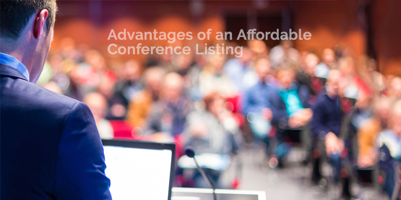 Affordable Conference Listing